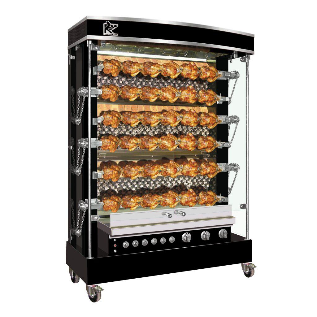 Unique Kitchen Professional Rotisserie Grandes Flammes Olympia