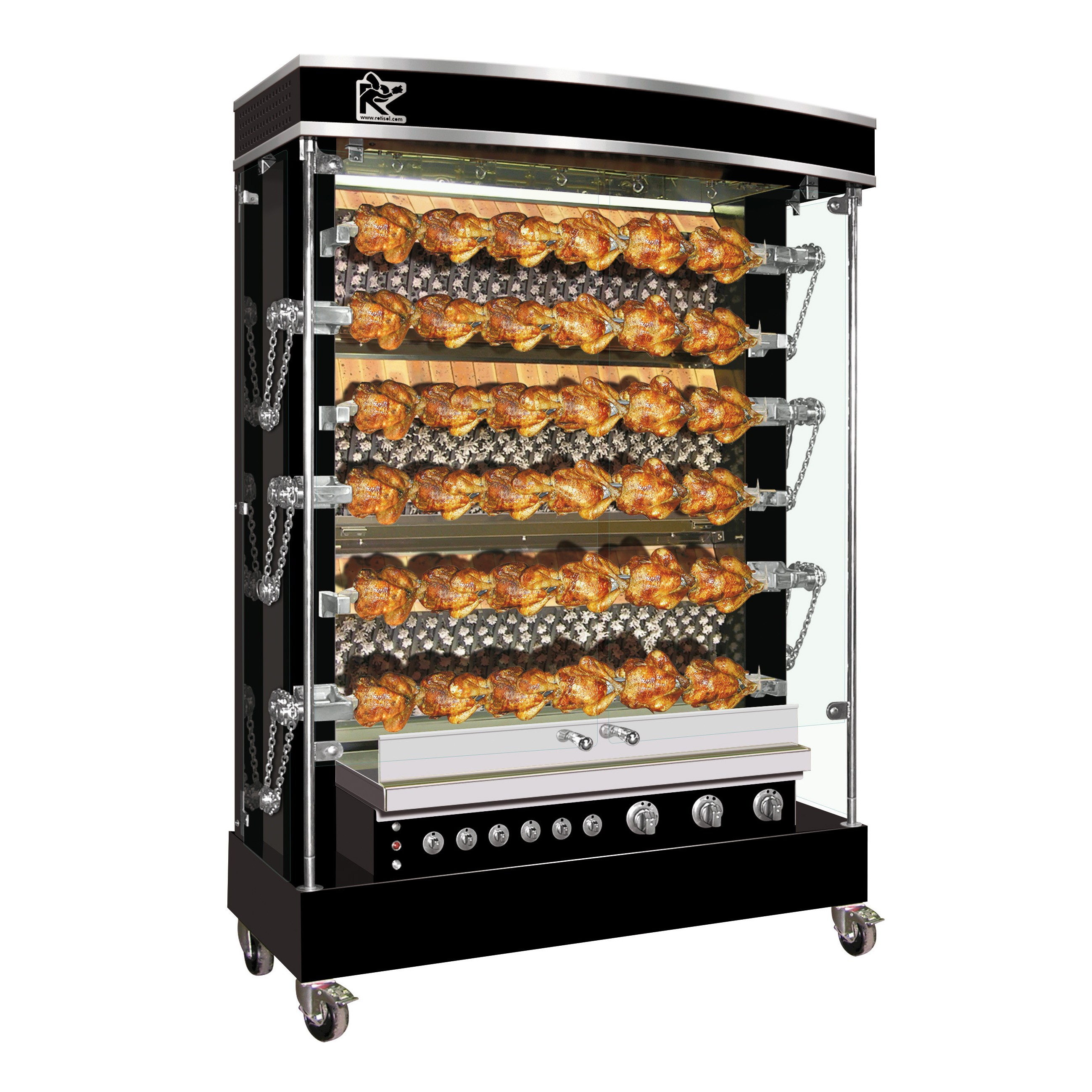 Professional Rotisserie Grandes Flammes Olympia